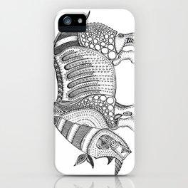 Javan Rhino iPhone Case