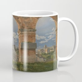 C.W. Eckersberg - A View through Three Arches of the Third Storey of the Colosseum Coffee Mug