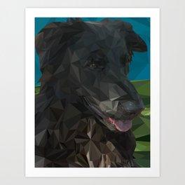 Barry Dog Art Print