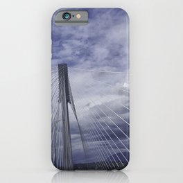 Port Mann Bridge Vancouver BC iPhone Case
