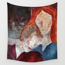 Resting (Repouso) Wall Tapestry