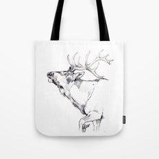 Elk's Whisper Tote Bag