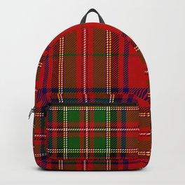 Red Tartan Plaid Backpack