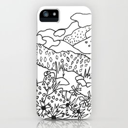 Texas Hill Country iPhone Case