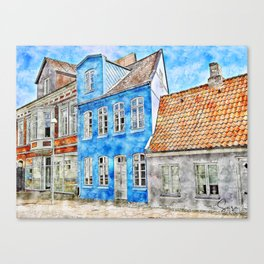 Dreaming of Denmark Canvas Print