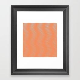 shower curtain 2 Framed Art Print