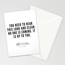 26  | Mel Robbins Quotes | 190802 Stationery Cards