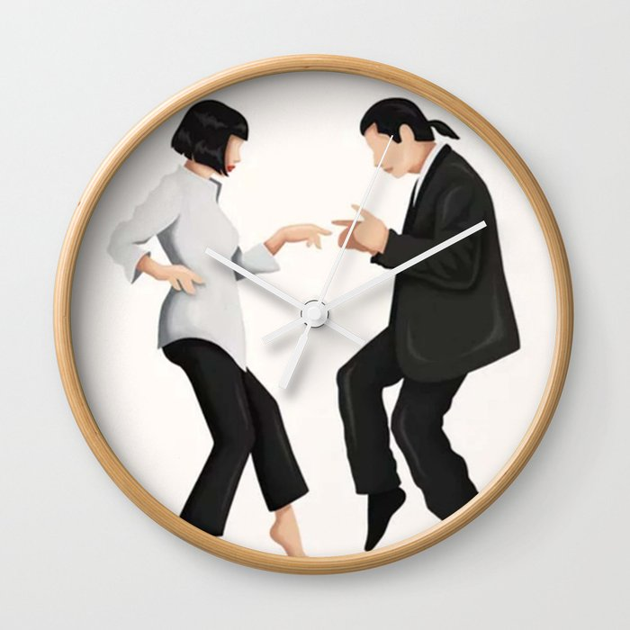 Pulp Fiction Twist Dance - Wall Clock