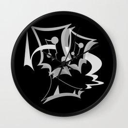 GiMMiCK BLACK SiDE ver. (Original Characters Art By AKIRA) Wall Clock