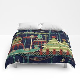 Fantastic Launch Station Comforters