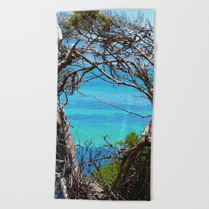 Simons Window Beach Towel