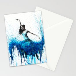 Rising Moonstone Dance Stationery Cards