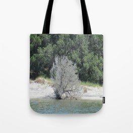 The Skeleton Tree on the Beach Tote Bag