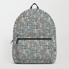 Dogs with spots - Paloma grey Backpack