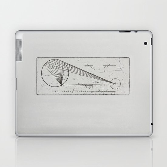 Etched print no. 1 Laptop & iPad Skin