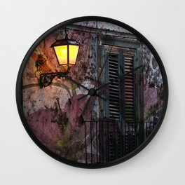 Floral Architecture - Sicily Wall Clock