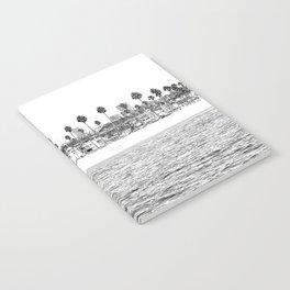 Vintage Newport Beach Print {4 of 4} | Photography Ocean Palm Trees B&W Tropical Summer Sky Notebook
