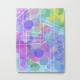 Colorful perspective Metal Print