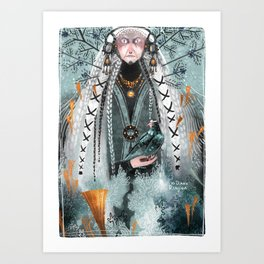 Northern Woods II Art Print