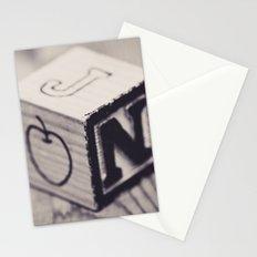 Toy cube... Monochrom Stationery Cards