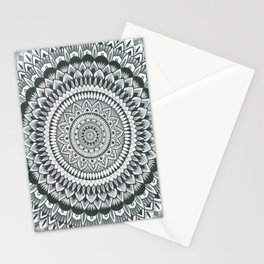 a word with myself print Stationery Cards