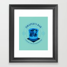 Draper's Bar Framed Art Print