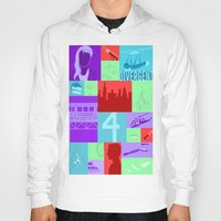divergent Hoodies featuring Divergent Collage by Anthony M. Sennett