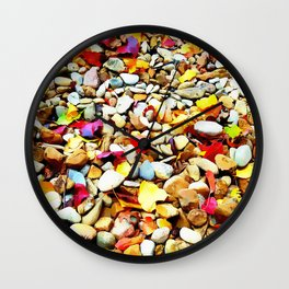 Colorful Grounds Wall Clock