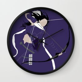 Kate Bishop Wall Clock