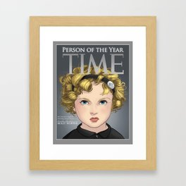 Person of the Year Framed Art Print