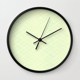 Light beige texture. Wall Clock