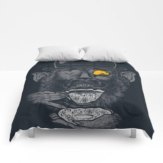a british gentleman werewolf  Comforters