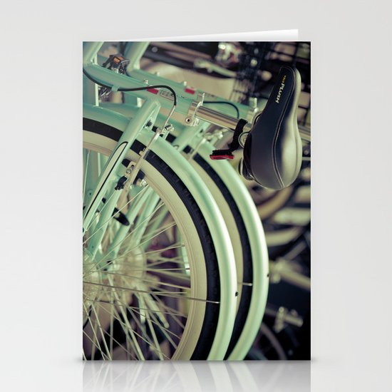 """""""Life is like a ten speed bicycle. Most of us have gears we never use."""" ~Charles M. Schulz~ Stationery Cards"""