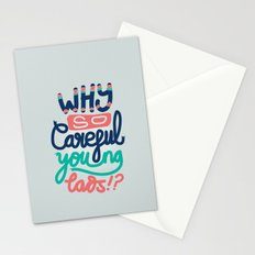 Why So Careful Stationery Cards