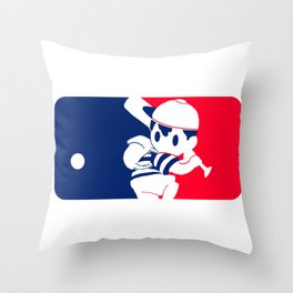 Eagleland Baseball Team Throw Pillow
