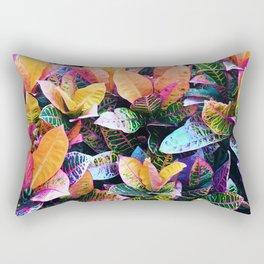 438 - Abstract garden design Rectangular Pillow