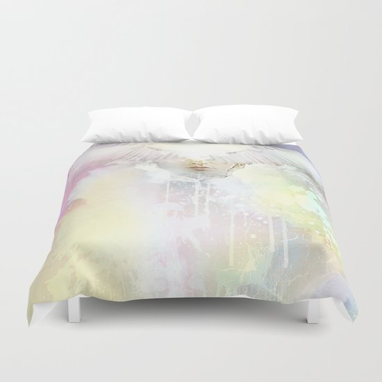 The guardian of dawn Duvet Cover