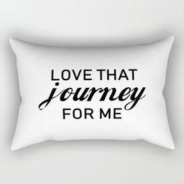 Love that journey for me. Rosebud motel. Rose apothecary. Schitts Creek Rectangular Pillow