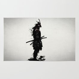 Armored Samurai Rug