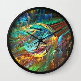 To The Center Wall Clock