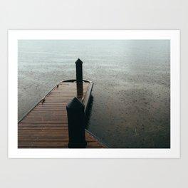Dock II Art Print