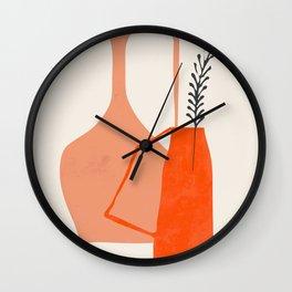 Vases3 Wall Clock