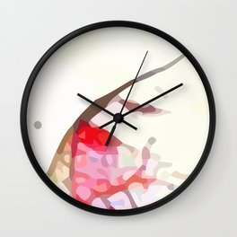 Crackle #1 Wall Clock