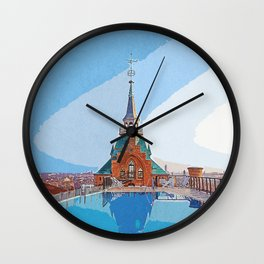 Trip to Italy Wall Clock