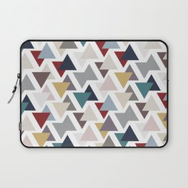 Scatter triangles Laptop Sleeve