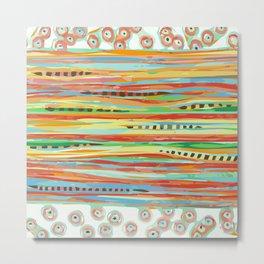 stripes & striped Metal Print