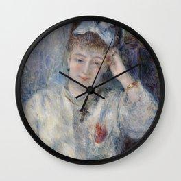 Portrait of Mademoiselle Marie Murer Wall Clock
