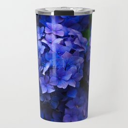 Purple Hydrangeas Travel Mug