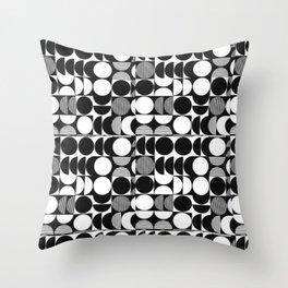 pattern motif 7 Throw Pillow