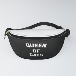 Queen Of Cats Funny Quote Fanny Pack